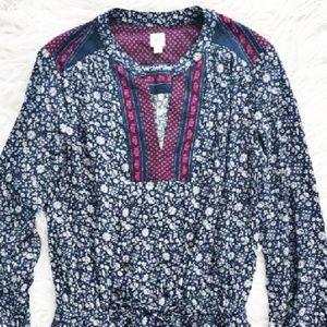 GAP   patterned boho dress